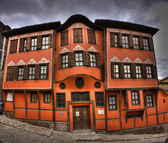 Plovdiv Old Town, Bulgaria