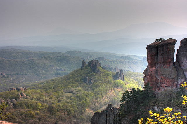 The fortess of Belogradchik, Bulgaria