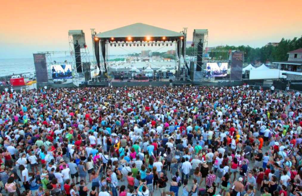 Beach concerts Mamaia, Romania