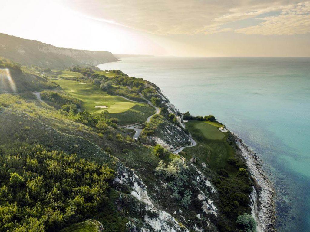 Golf courses golf terrains Bulgaria
