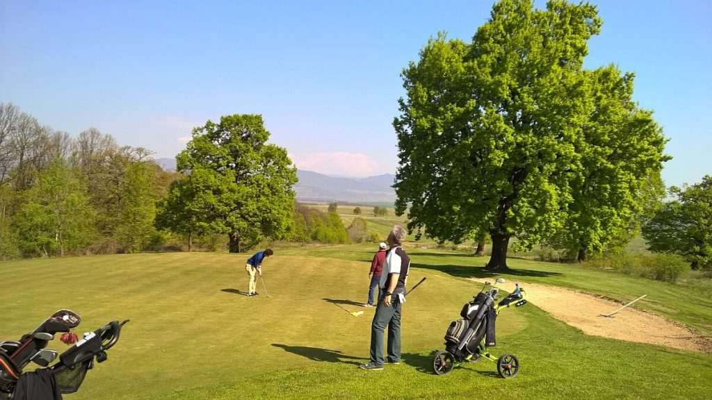 Golf in romania