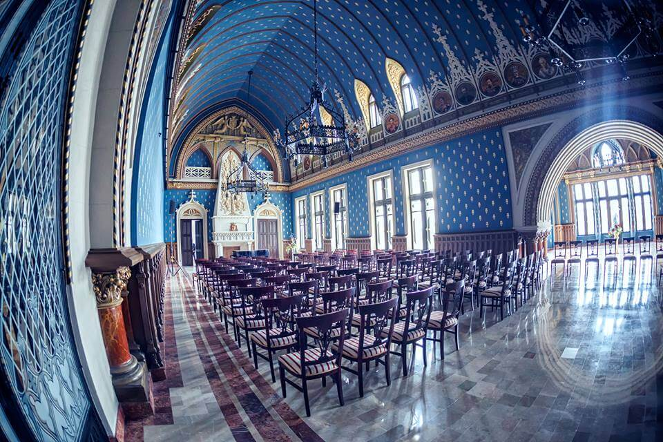 Palaces for events in Romania