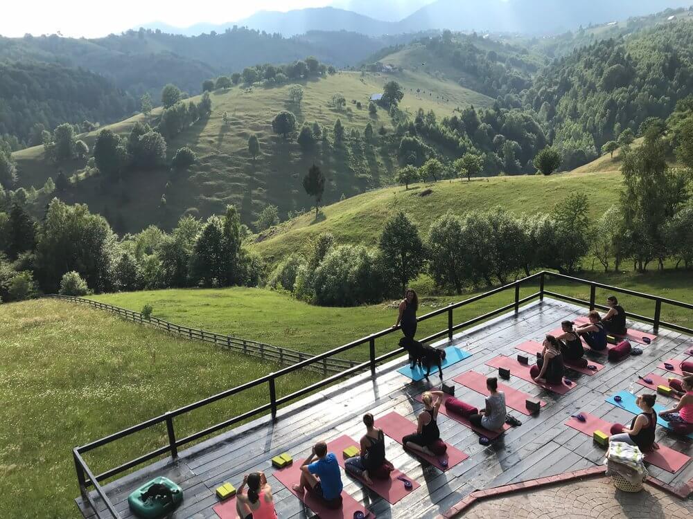 Yoga retreat Transylvania