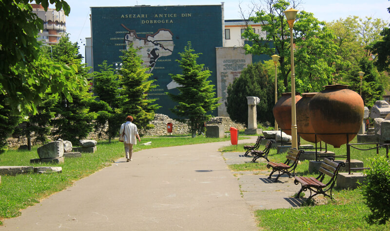 Park Constanta archeology