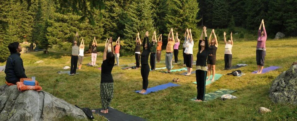 Yoga and wellbeing retreats Romania group travel