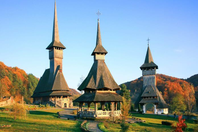 Barsana Monastery Maramures UNESCO