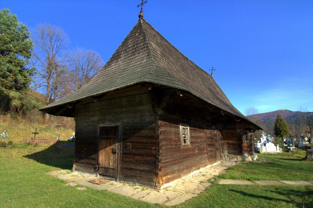 Oldest wooden church moldova