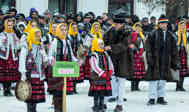Christmas traditions Bucovina