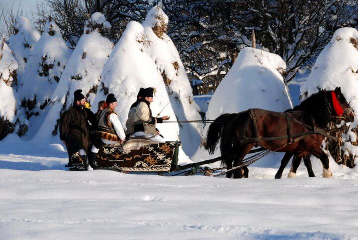 Bucovina winter traditions