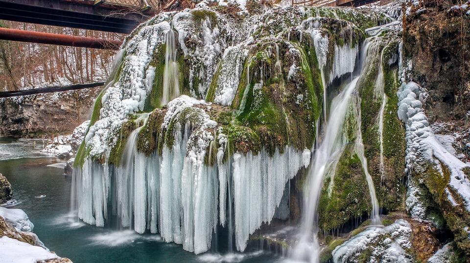 Bigar waterfall Timisoara tours