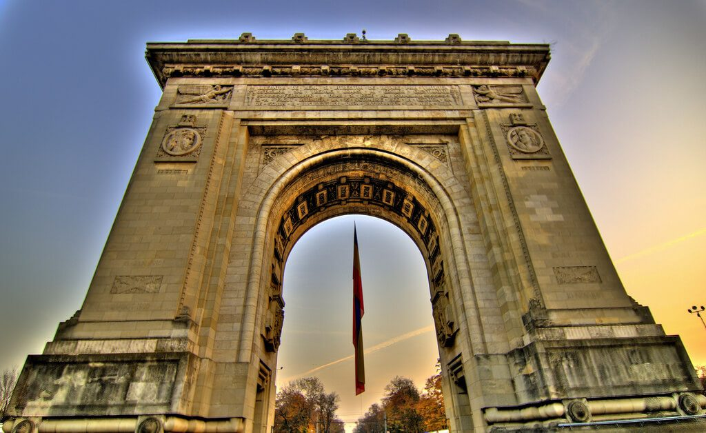Bucharest Arch of Triumph