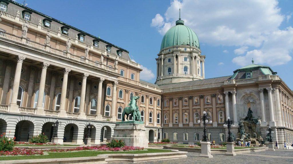 Buda Castle Budapest DMC