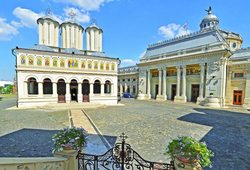 Patriarchal Cathedral and Palace.