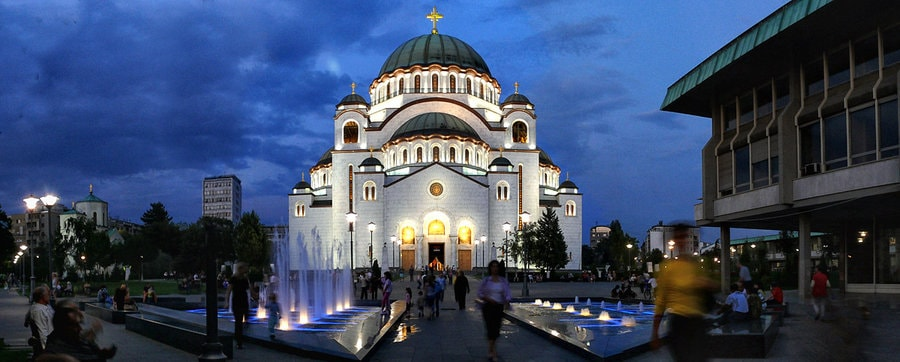 Sveti Sava Temple Belgrade