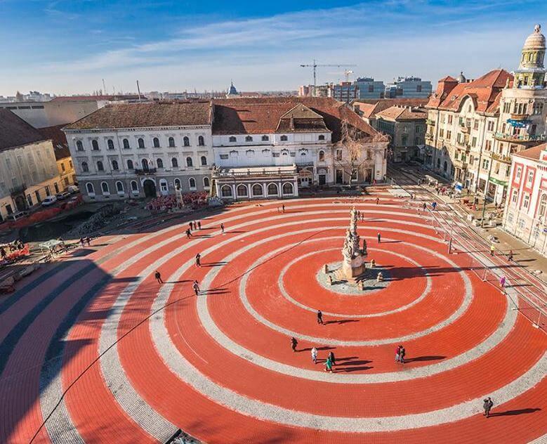 Timisoara histrical squares