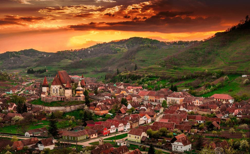 Biertan Transylvania villages
