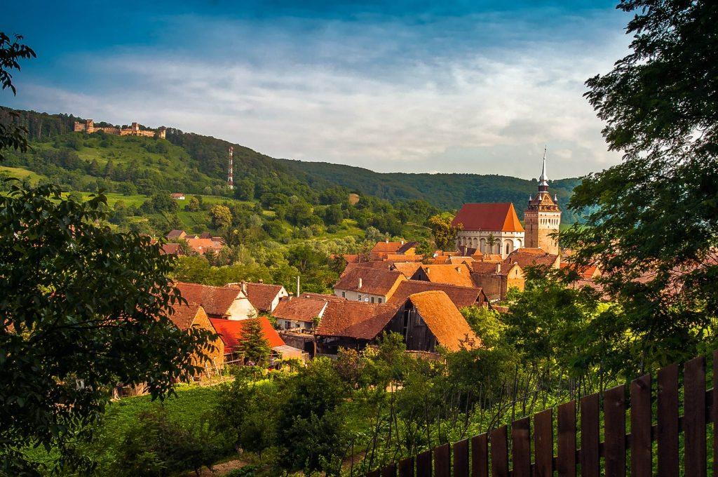 Saschiz Transylvania villages
