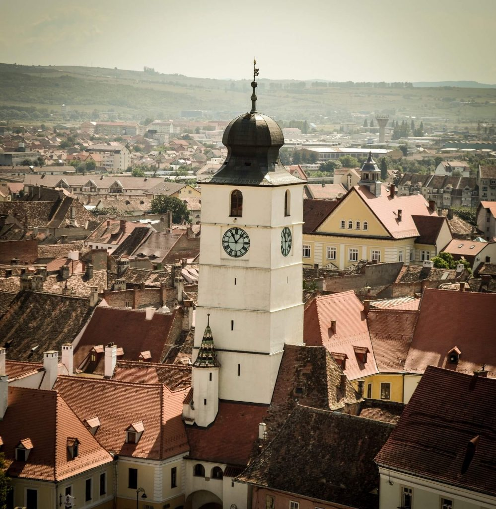 Sibiu Tower of Council. Eastern Europe DMC