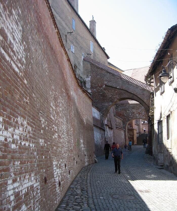 Stairs passage Sibiu DMC
