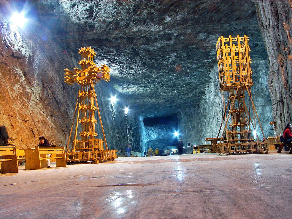 Praid salt mine Romania