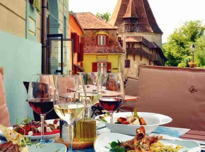 Transylvania gastronomy